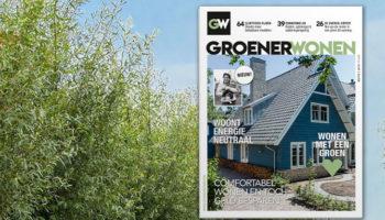Groener wonen, magazine, tijdschrift, nieuw, Bruna, korting, duurzaamheid