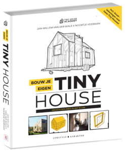Bouw je eigen tiny house, tiny house, boek, Groener Wonen
