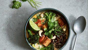 Thaise soep met rode curry
