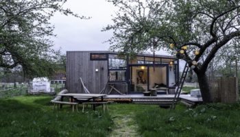 Tiny House Mike en Floor Kleinhuizen
