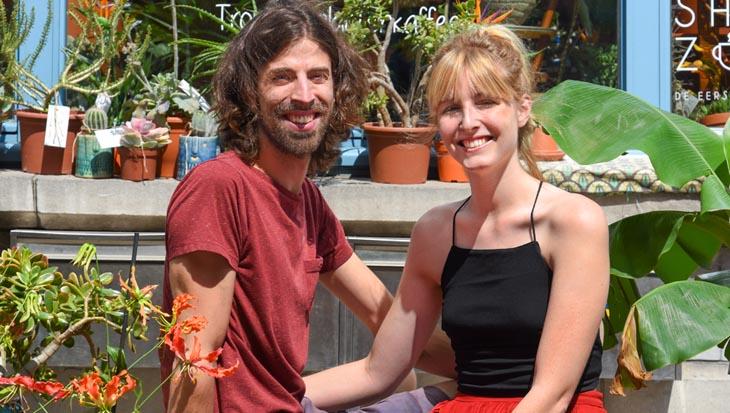 Plantencafé Broesse, de jungle van Gent