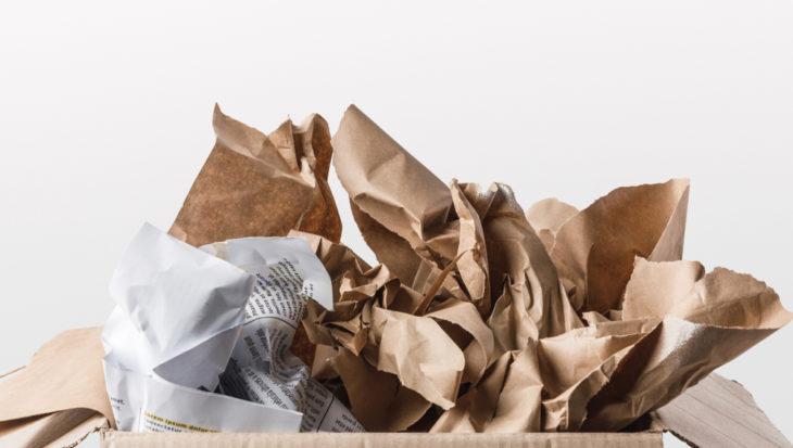 Vervuiling oud papier verder toegenomen