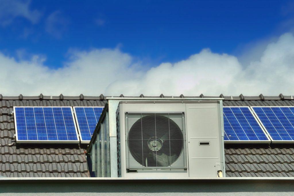 warmtempomp en zonnepanelen