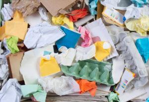 Recycling oud papier