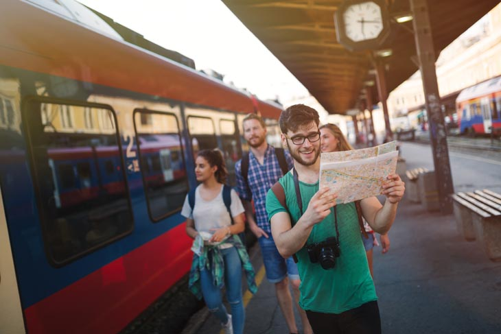 Treinreis door Europa met een groep - duurzaam reizen