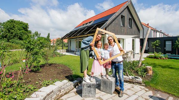 Huiseigenaren openen online hun duurzame woning