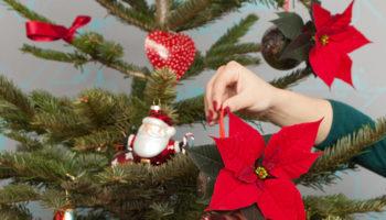 Duurzaam kerst vieren - kerstster kerstbal maken
