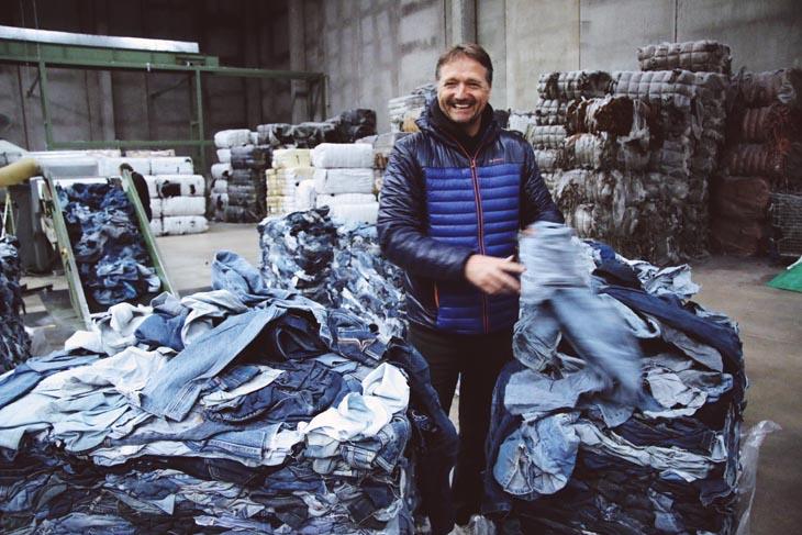 MUD jeans leasen Bert van Son