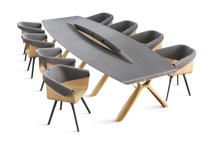 Plastic Whale Circular Furniture set (1)