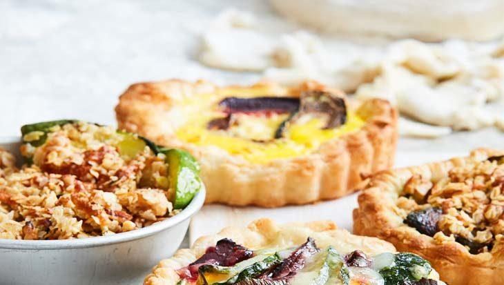 Zero waste recept – Hartige taarten, quiches en pizza