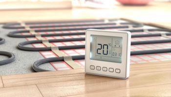 isolatie bij vloerverwarming, energie besparen met vloerverwarming