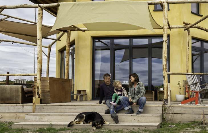 Duurzaam huis in Oosterwold - familie Schilling-Werdler