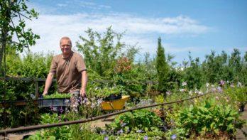 Natuurlijke tuin volgens Rens de Rooij