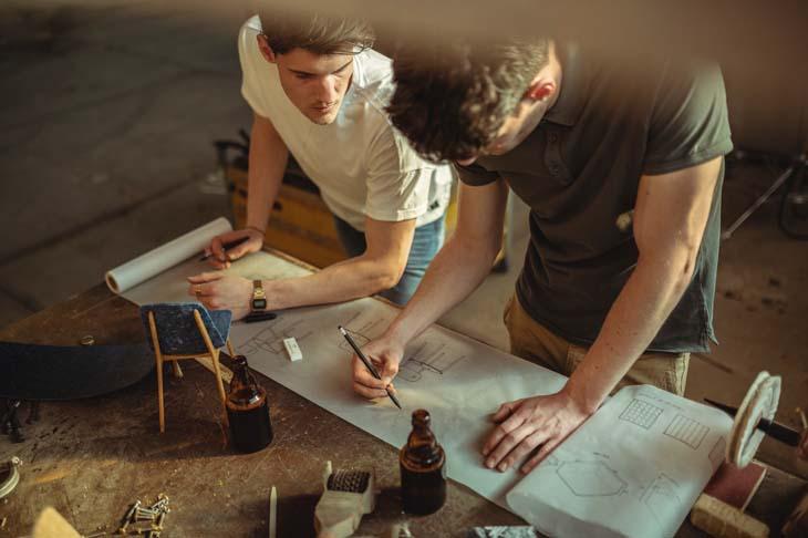Designbureau Planq - meubels van oude kleding