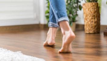 Geschikte vloer voor vloerverwarming