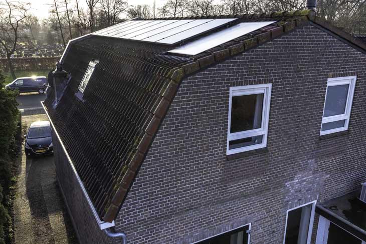 Binnenkijken duurzame woning in Joure zonnepanelen