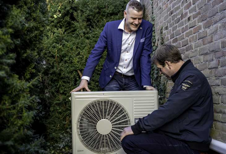 Binnenkijken duurzame woning in Joure warmtepomp