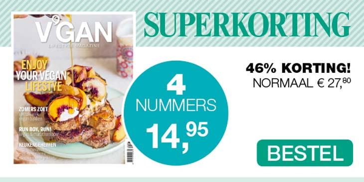 V'GAN Lifestyle Magazine superkorting