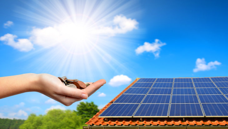 Zonne-energie salderen