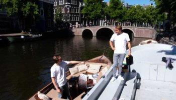 Aquablu drinkwater uit de Amsterdamse gracht