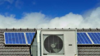 Warmtepomp en zonnepanelen