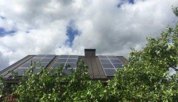 Zonne-energie op bewolkte dagen
