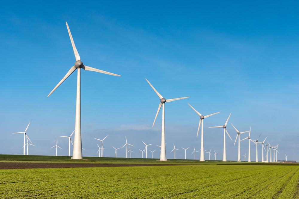 opbrengst windmolen