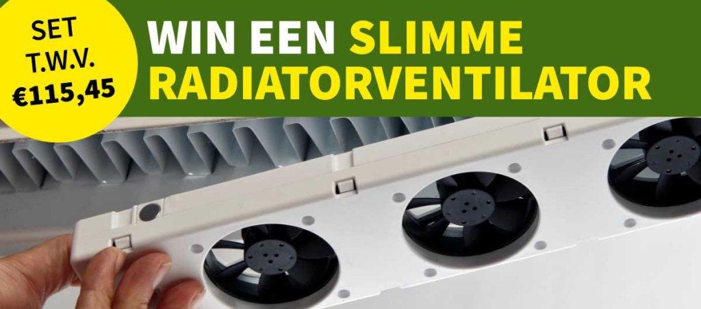 SpeedComfort radiatorventilator winactie