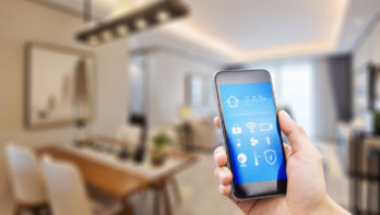 Een slim huis, energie besparen met behulp van techniek