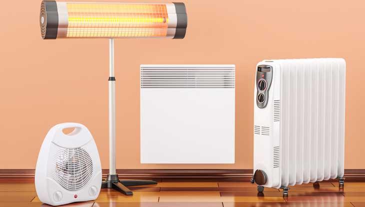 Elektrische verwarming soorten