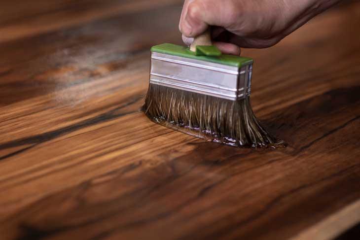 Duurzaam hout verven