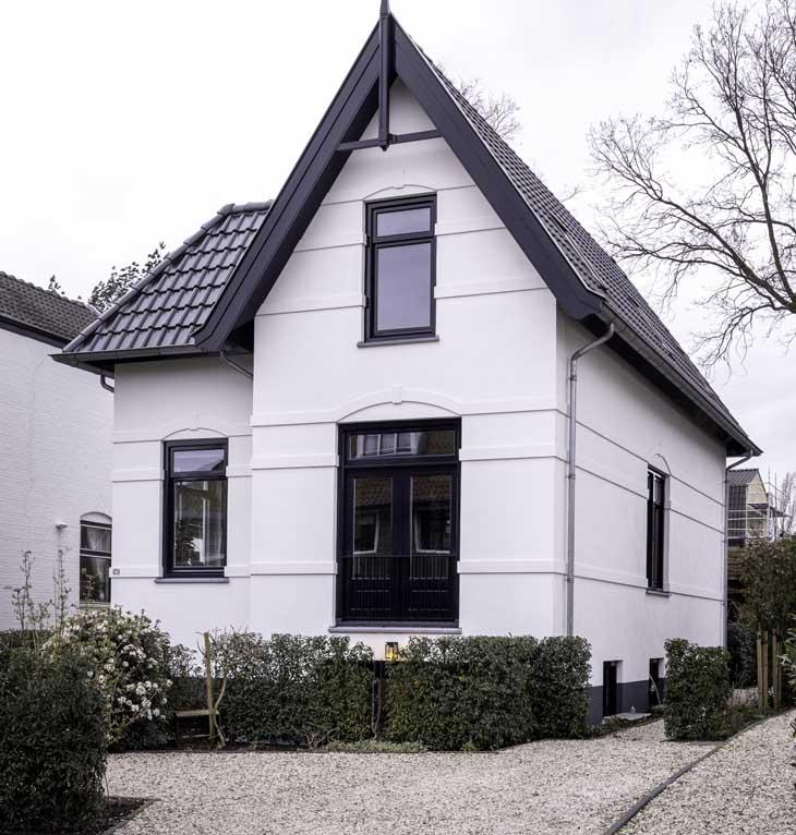 Duurzaam huis klassieke uitstraling