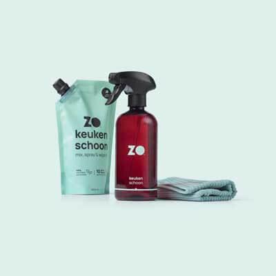ZO starterpakket duurzaam schoonmaken