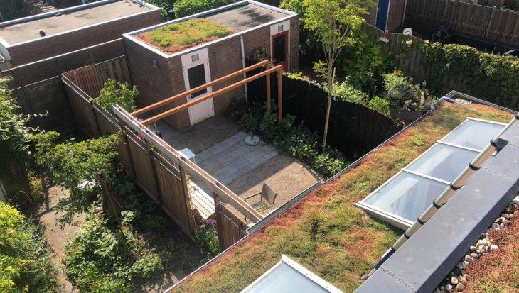 Een sedumdak voor duurzaam wonen