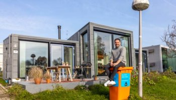 Wonen in een huis van plastic