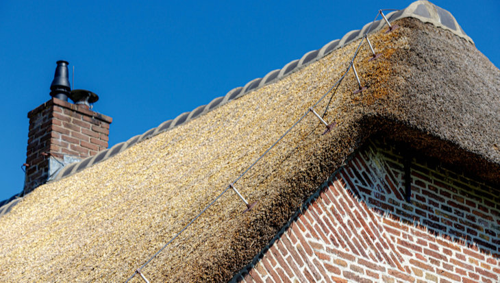 Rieten dak isoleren