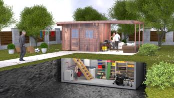 De Tuinkelder, de perfecte oplossing bij groener wonen